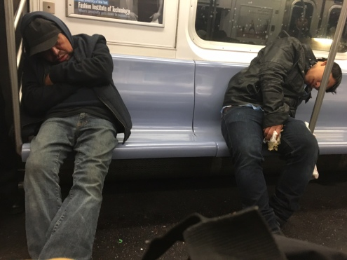 subway sleepers